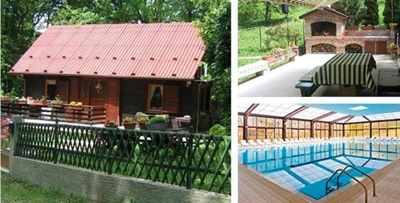 [DONJA STUBICA] Najam drvene kuće – 3 ili 4 dana guštanja za do 5 osoba uz 30% popusta na ulaznice za Terme Jezerčica od 479 kn!