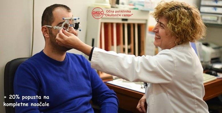 Pregled za korekcijske naočale ili kontaktne leće