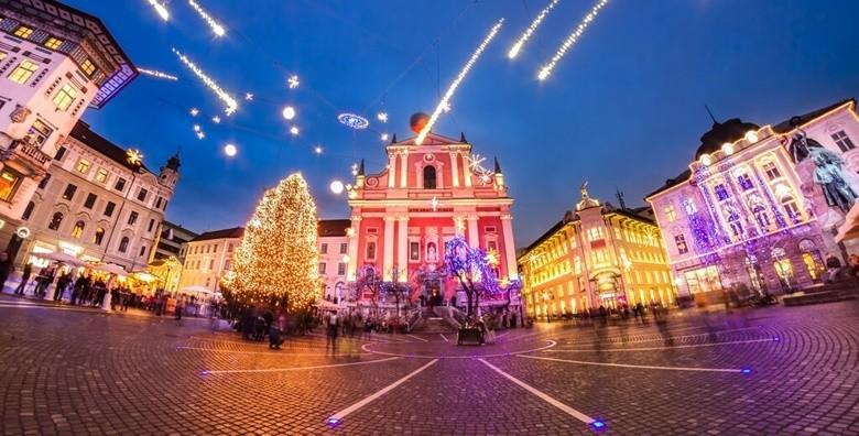 Božićna čarolija u Ljubljani i Postojnskoj jami - izlet