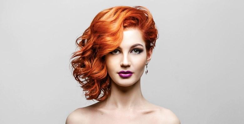 Botox za kosu ili pramenovi uz šišanje, fen frizura i maska