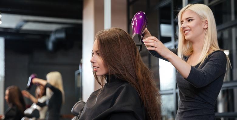 Bojanje ili pramenovi, tretman keratinom, šišanje, frizura