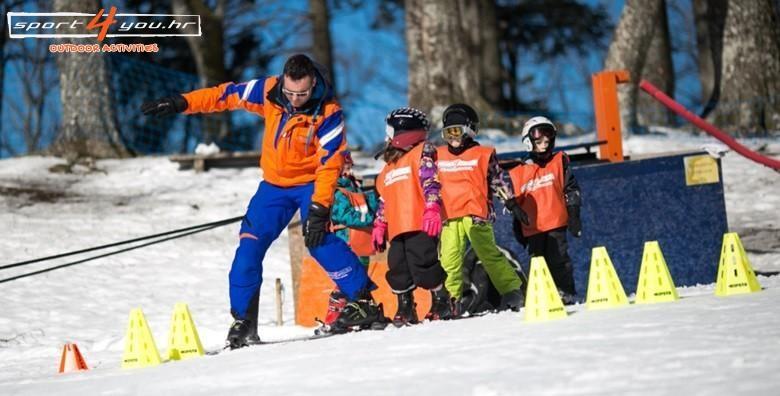 Škola skijanja ili bordanja na Sljemenu - 4 ili 5 dana