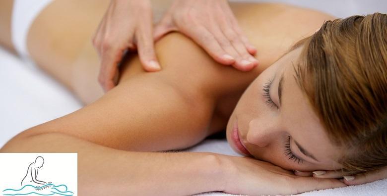 Medicinska masaža leđa, vrata, i nogu