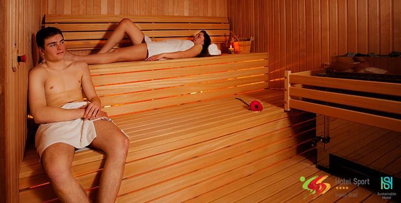 Wellness u Hotelu Sport**** za dvoje