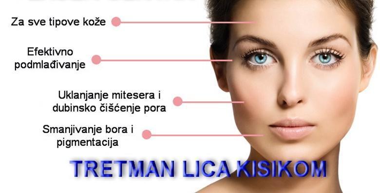 Čišćenje lica medicinskim kisikom