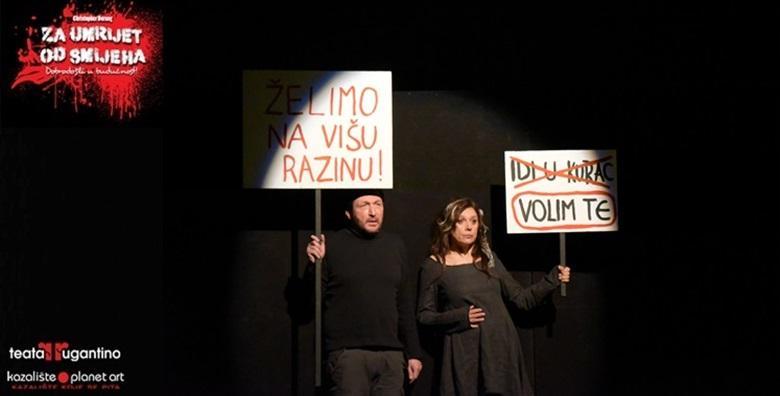 Predstava Za umrijet od smijeha u Lisinskom