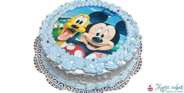 Torta s jestivom ukrasnom slikom ili natpisom