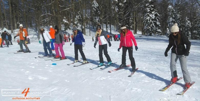 Škola skijanja na Sljemenu za djecu i odrasle
