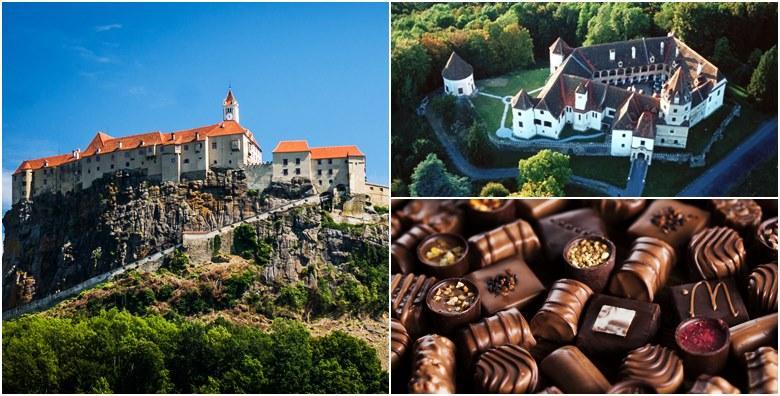 Dvorac Kornberg i shopping u tvornici čokolade Zotter
