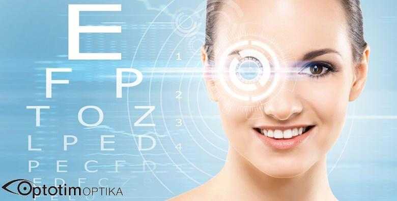 MEGA POPUST: 75% - Ispitivanje vidne oštrine, pregled suznog filma, mjerenje zakrivljenosti rožnice i očnog tlaka te po potrebi propisivanje korekcije za 75 kn! (Poliklinika Optotim)