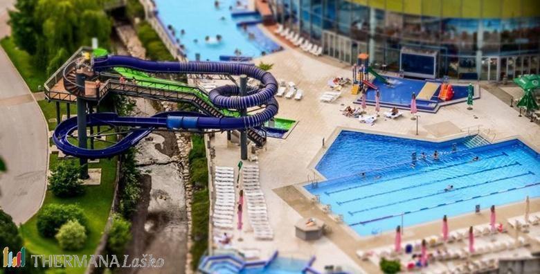 POPUST: 50% - SLOVENIJA 2 noćenja s polupansionom za dvoje u Hotelu Zdravilišče Laško 4* uz kupanje na bazenima i zabavu na toboganima za 1.421 kn! (Hotel Zdravilišče Laško****)