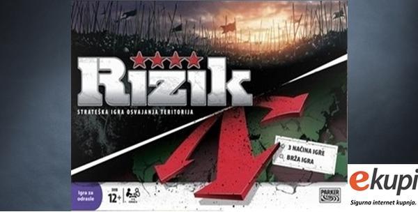 Društvena igra Rizik - zabava za cijelu ekipu