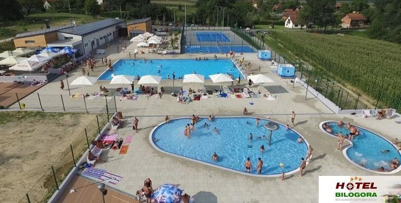 [HOTEL BILOGORA***] 2 noćenja s polupansionom za dvoje i GRATIS 4 cjelodnevne ulaznice za bazene - opuštajući proljetni odmor za 499 kn!
