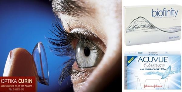 Kontaktne leće - paket mekanih silikonskih leća