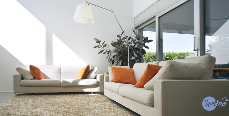 Kemijsko čišćenje garniture i trosjeda  dvosjeda ili fotelje