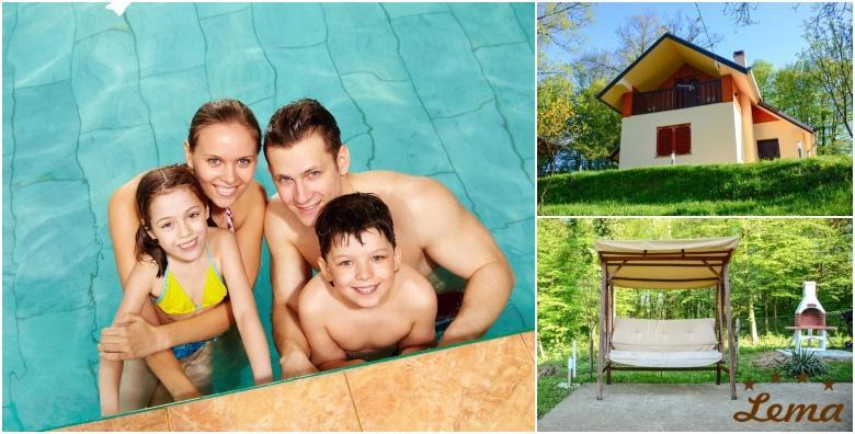 POPUST: 40% - TUHELJ Najam kuće Holiday House Lema 4* - 2 noćenja za 2 do 4 osobe uz 30% popusta na ulaznice za Terme Tuhelj za 600 kn! (Holiday House Lema****)
