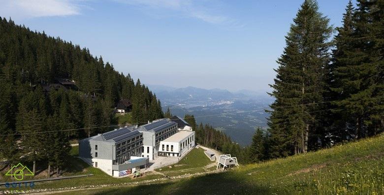 POPUST: 30% - HOTEL GOLTE Povedite cijelu obitelj na odmor na čak 1.410 m nadmorske visine!3 noćenja u apartmanu za 5 osoba uz zipline i korištenje wellnessa za 1.530 kn! (Apartman Golte)