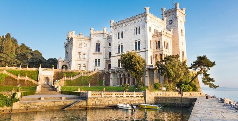 Ponuda dana: TRST Posjetite bajkoviti dvorac Miramare, upoznajte brojne znamenitosti nekadašnje shopping meke i uživajte u okusu prave talijanske kave za 199 kn! (Smart TravelID kod: HR-AB-01-070116312)