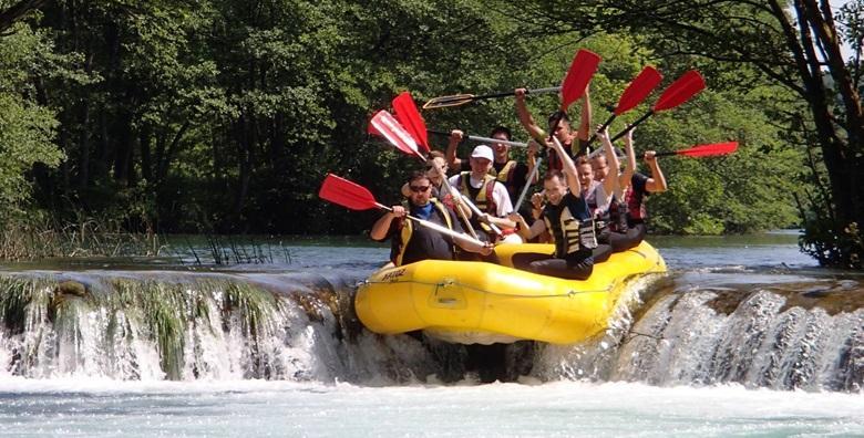 Rafting na Mrežnici - avantura u netaknutoj prirodi za 149 kn!