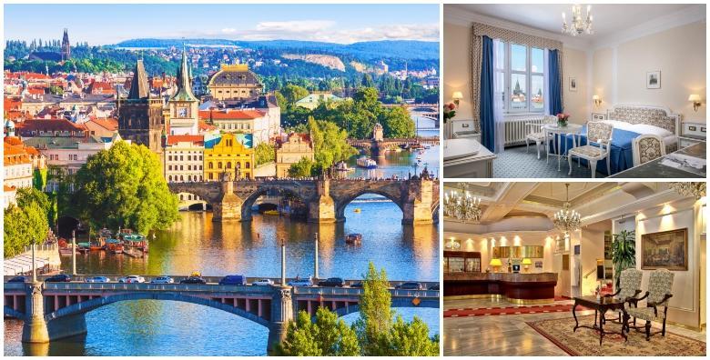 Prag***** - 3 dana s doručkom za dvoje u luksuznom hotelu u centru za 1.695 kn!