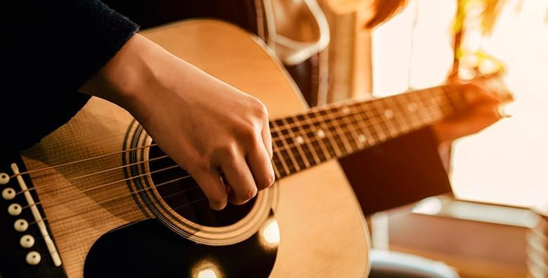Tečaj gitare u trajanju 4 ili 8 šk. sati od 249 kn!