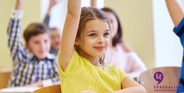 POPUST: 60% - ENGLESKI Tečaj za djecu u trajanju 20 šk.sati - razine prikladne za polaznike osnovnoškolske dobi u centru za strane jezike Šprehalica za 299 kn! (Centar za strane jezike Šprehalica)