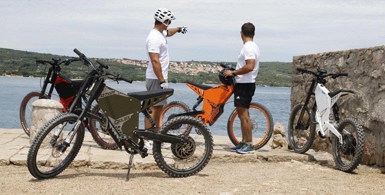 E-bike tura otokom Krkom -2h avanture bez potrebe za pedaliranjem za 389 kn!