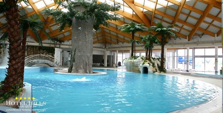 Uskrs – wellness u Hotelu Hills 5* u Sarajevu, opustite se u termalnoj rivijeri Ilidža, najvećem termalnom kompleksu u regiji, 2 noćenja s doručkom za 2 osobe!