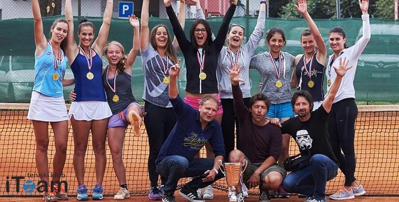 POPUST: 41% - TENIS Mjesec dana treninga po programu svjetske teniske federacije - 1x tjedno za žene ili 5 individualnih treninga za djecu uz uključenu opremu od 119 kn! (Teniski klub iTeam)