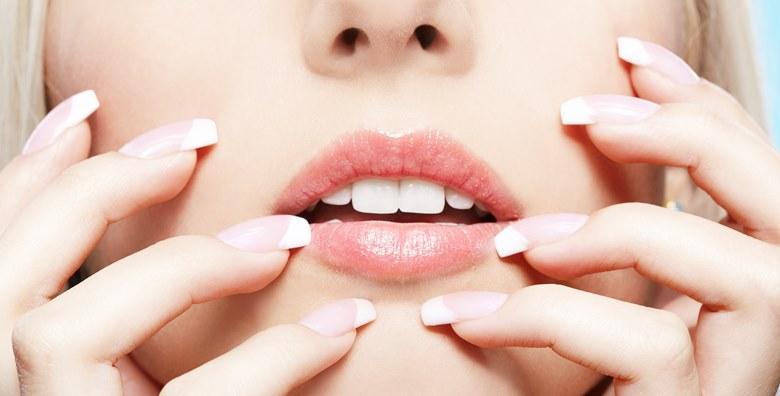 Geliranje prirodnih noktiju ili nadogradnja noktiju gelom za 100 kn!