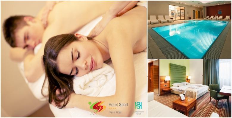 POPUST: 53% - Produženi wellness vikend u Hotelu Sport 4* - 2 noćenja za dvoje uz korištenje sauna, bazena, fitnessa, relax zone i aroma masaža za 930 kn! (Hotel Sport 4*)