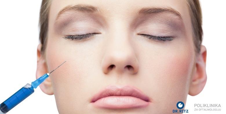 POPUST: 40% - BOTOX Izbrišite bore s lica u samo nekoliko minuta te vratite mladenački izgled i samopouzdanje svjetski poznatom Vistabel kvalitetom za 749 kn! (Poliklinika za oftalmologiju Dr. Ritz)