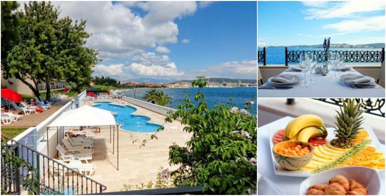 Trogir, Hotel Jadran 3* - 2, 3 ili 7 noćenja s polupansionom za 2 osobe i 2 djece do 8 godina u sobi s balkonom ili terasom uz korištenje vanjskog bazena već od 1.349 kn!