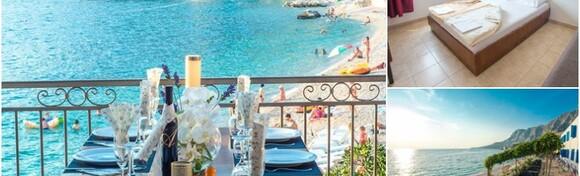 CIJELA LJETNA SEZONA U MAKARSKOJ - 7 noćenja s doručkom ili polupansionom za 2 osobe + gratis smještaj za 2 djece do 3 god. u Beach Hotelu Plaža 3* od 4.200 kn!