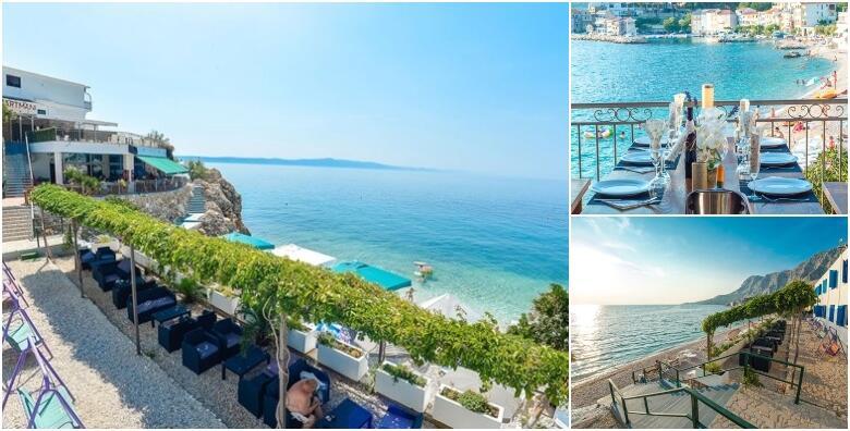 MAKARSKA - ljetna idila uz 3 ili 7 noćenja s doručkom ili polupansionom za 2 osobe + gratis smještaj za 2 djece do 3 god. u Beach Hotelu Plaža 3* na samoj plaži od 1.800 kn!