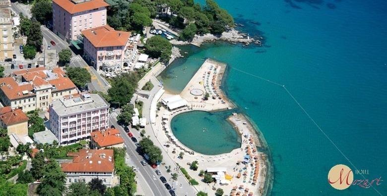 POPUST: 49% - OPATIJA, HOTEL MOZART 5* Luksuzan odmor u srcu Kvarnera - 2 noćenja s doručkom za dvije osobe uz korištenje sauna za 1.458 kn! (Hotel Mozart 5*)