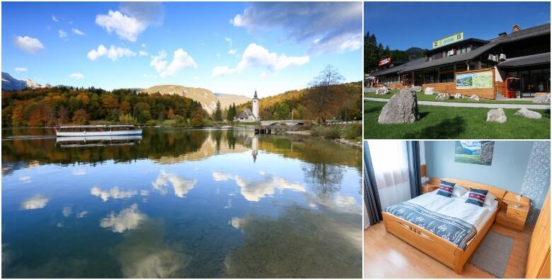 BOHINJSKO JEZERO - izvrsno mjesto za ljubitelje prirode uz 2 noći za do 3 osobe + gratis smještaj za 1 dijete do 7 godina u Apartmanima 4* na samo 50 m od jezera za 578 kn!