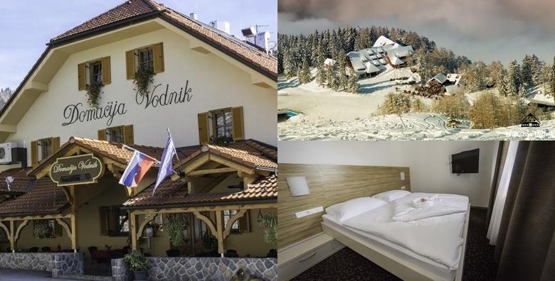 Skijanje na Krvavcu - 1 ili 2 noćenja s doručkom, uz opciju wellness i jacuzzi za 2 u Domačiji Vodnik 3*, zimske radosti na čak 30 km uređenih staza već od 609 kn!