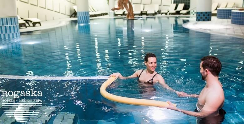 Ponuda dana: ROGAŠKA SLATINA - 2 noćenja s doručkom, pansionskom i romantičnom večerom u 4 slijeda uz neograničeno kupanje i korištenje sauna u hotelu 4* već od 1.219 kn! (Grand Hotel Sava 4* Superior)