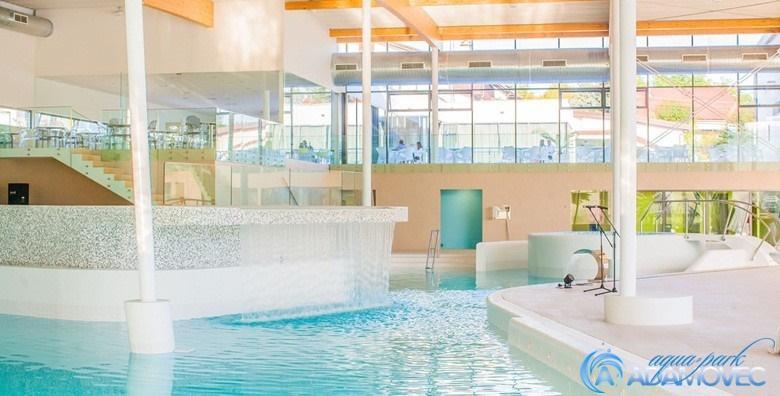 POPUST: 30% - AQUAPARK ADAMOVEC Cjelodnevno kupanje na unutarnjim bazenimaIskoristivo svim danima u tjednu za samo 49 kn! (Aquapark Adamovec)