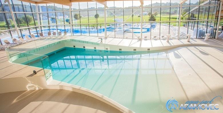 Aquapark Adamovec - cjelodnevno opuštanje uz bazene i saune za 110 kn!