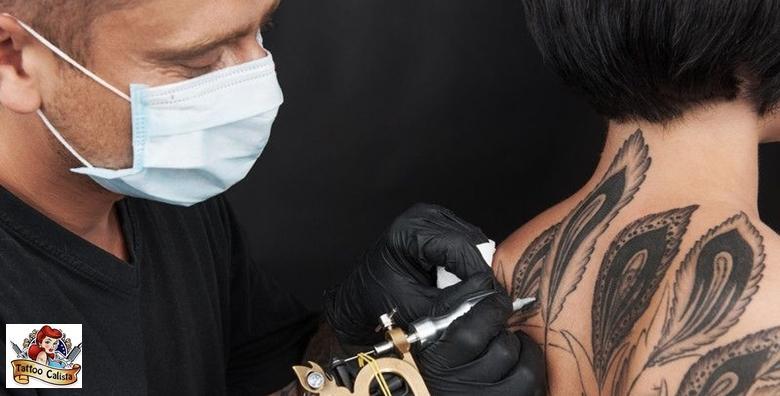 Tetovaža po izboru u studiju Calista - voucher za 300 kn u vrijednosti 600 kn!