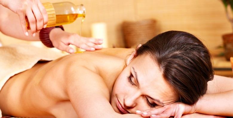 Aromaterapeutska masaža cijelog tijela u trajanju 60 minuta za samo 79 kn!