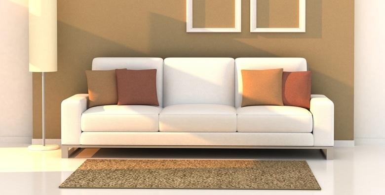 Kemijsko čišćenje kutne garniture i tepiha ili trosjeda, dvosjeda i fotelje od 189 kn!