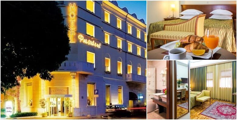 POPUST: 50% - Ljeto u Hotelu President 4* - priuštite si zasluženi odmor u Splitu uz 3 do 7 noćenja s doručkom za dvije osobe od 2.025 kn! (Hotel President 4*)
