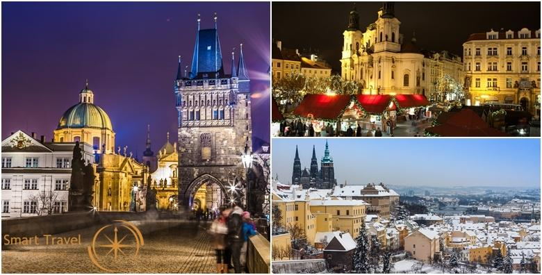 Advent u Pragu, Budejovicama i Krumlovu - 3 dana s doručkom u hotelu 3* i prijevozom za 735 kn!