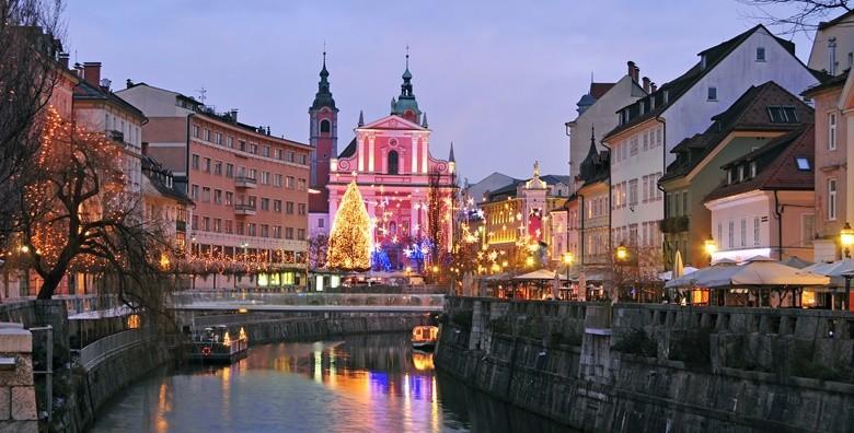 Božićna priča u Ljubljani i Postojnskoj jami uz posjet Predjamskom gradu! Cjelodnevni izlet uz garantirani polazak 26.12. za 155 kn!