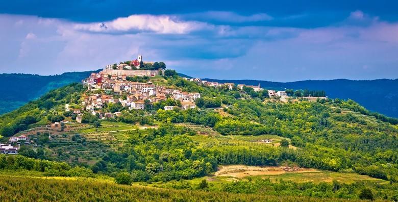 MOTOVUN, HUM, ROČ - istražite dražesne srednjovjekovne gradove, uživajte u degustaciji istarskih specijaliteta i zaljubite se u unutrašnjost Istre za 180 kn!