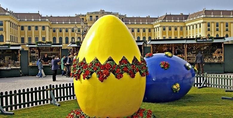 Ponuda dana: Ne propustite tradicionalni uskršnji sajam u Beču koji će vas oduševiti predivnim ukrasima i tradicionalnim austrijskim kulinarskim poslasticama za 264 kn! (Smart TravelID kod: HR-AB-01-070116312)