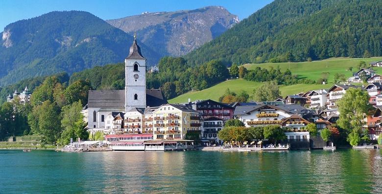Austrija, Wolfgangsee - jednodnevni izlet s uključenim prijevozom za 264 kn!